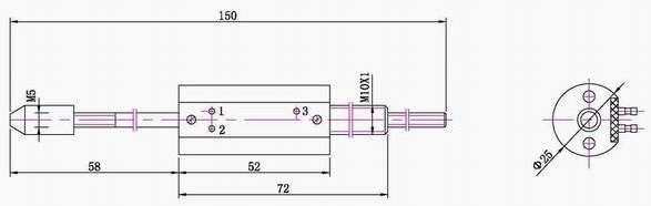 防护等级 ip40 操作力 不大于1n 工作电压 v dc 5v / 10v / 12v / 24v